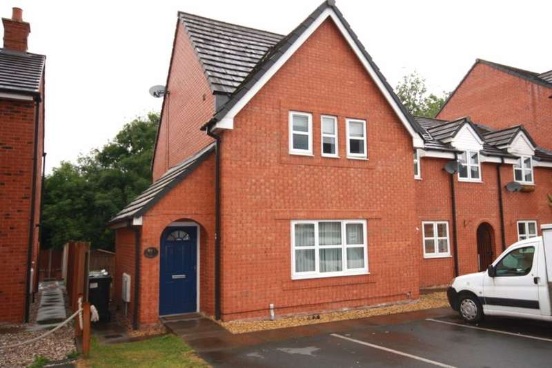 3 Bedrooms Terraced House for sale in Lambert Crescent, Nantwich, CW5