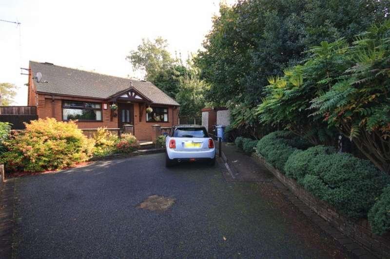 2 Bedrooms Detached Bungalow for sale in Barons Road, Shavington, Crewe, CW2