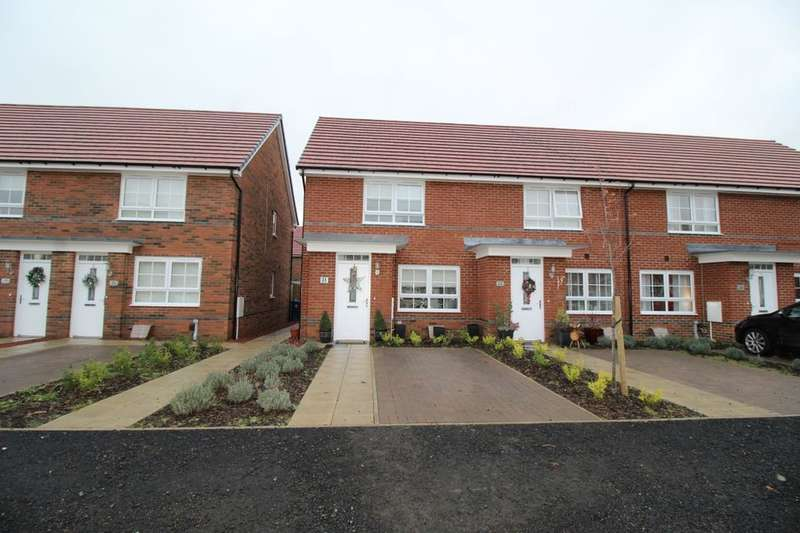 2 Bedrooms Terraced House for sale in Penrose Place, Hebburn, NE31