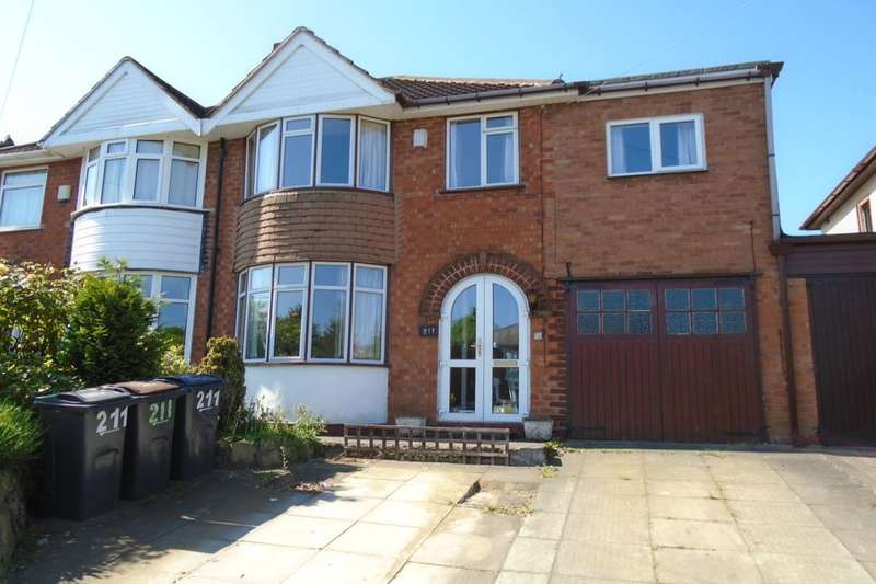 5 Bedrooms Semi Detached House for sale in Barrows Lane, Birmingham, B26