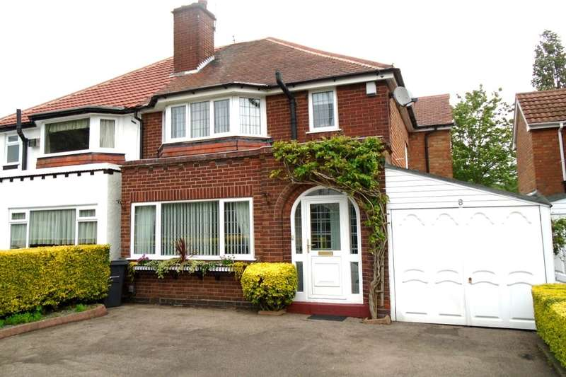 3 Bedrooms Semi Detached House for sale in Sedgemere Road, Birmingham, B26
