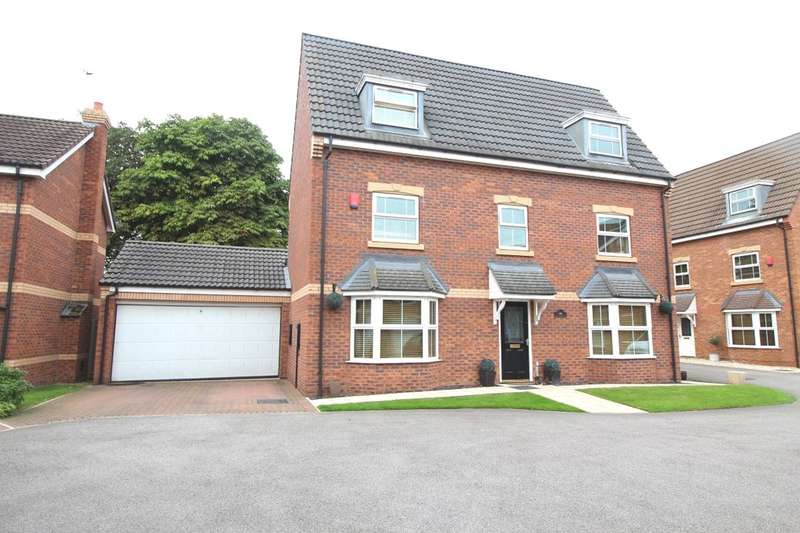 5 Bedrooms Detached House for sale in Hayfield Court, Auckley, Doncaster, DN9