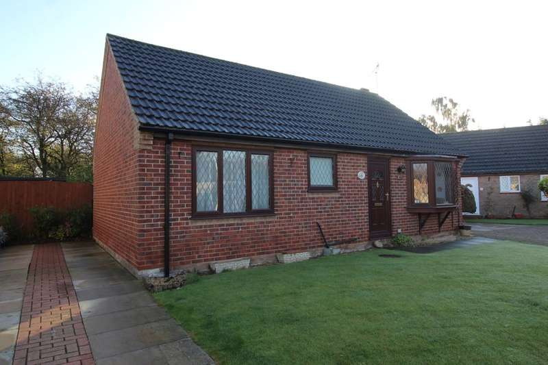 2 Bedrooms Detached Bungalow for sale in Hunters Croft, Haxey, Doncaster, DN9