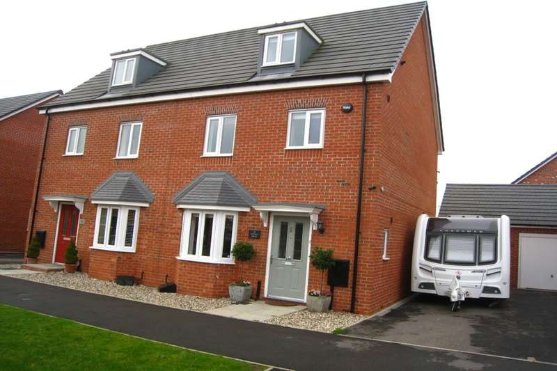 4 Bedrooms Semi Detached House for sale in Astoria Drive, Bannerbrook Park, Coventry, CV4