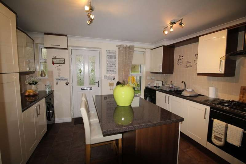 3 Bedrooms Terraced House for sale in Fenwick Way, Consett, DH8