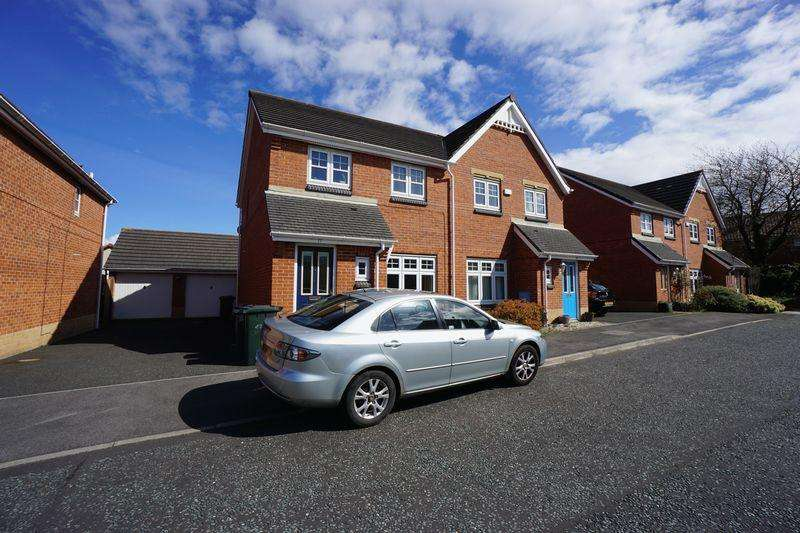 3 Bedrooms Semi Detached House for rent in Housesteads Gardens, Longbenton