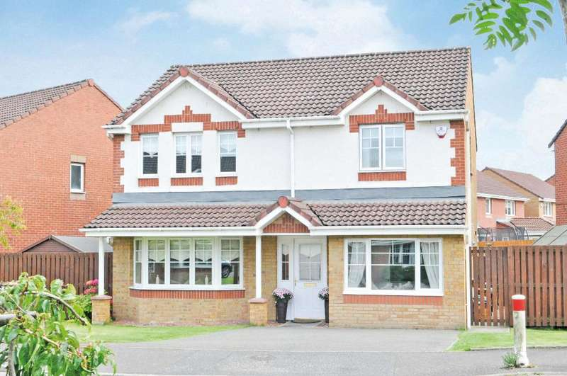 4 Bedrooms Detached House for sale in Miller Drive, Bishopbriggs, East Dunbartonshire, G64 1FB
