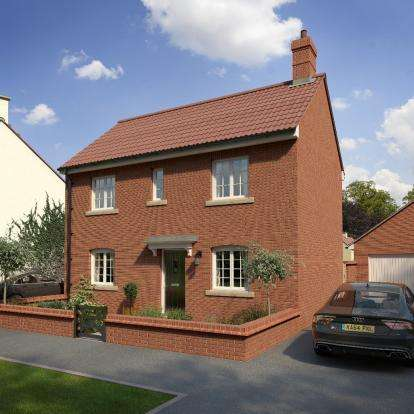 3 Bedrooms Detached House for sale in Killams Park, Taunton TA1