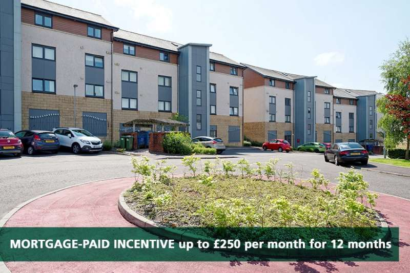 2 Bedrooms Flat for sale in Millview Crescent, Johnstone, Renfrewshire, PA5 8QA