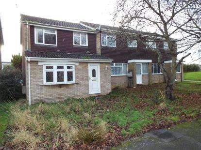 3 Bedrooms End Of Terrace House for sale in Verulam Gardens, Luton, Bedfordshire