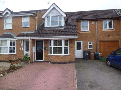 3 Bedrooms Terraced House for sale in Tewkesbury Close, Buckingham Fields, Northampton, Northamptonshire