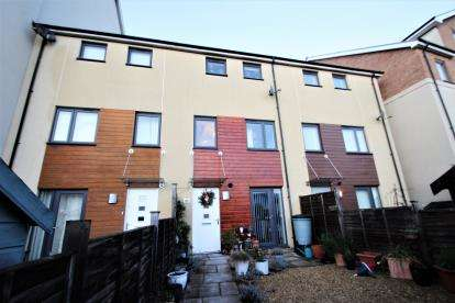 4 Bedrooms Terraced House for sale in Kingfisher Road, Portishead, Bristol, North Somerset