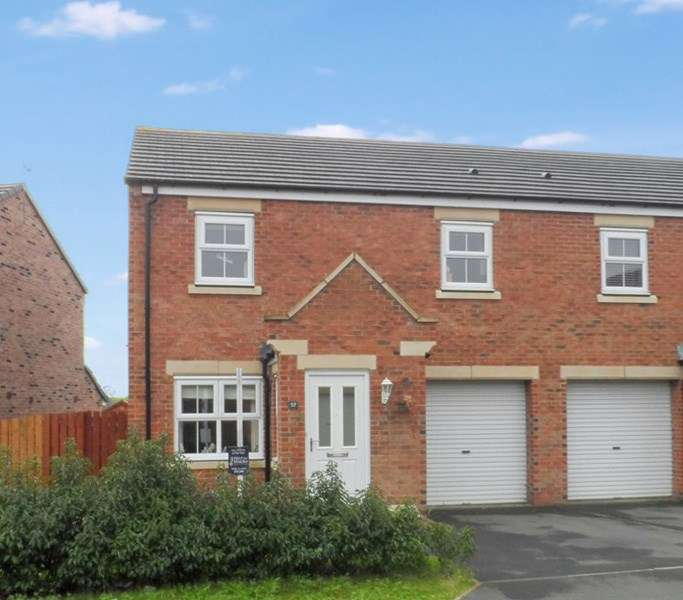 3 Bedrooms Property for sale in Beaumont Court, Pegswood, Morpeth, Northumberland, NE61 6BF