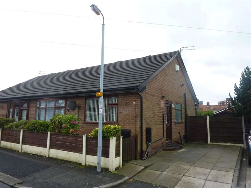 2 Bedrooms Semi Detached Bungalow for rent in Renshaw Avenue, Eccles, Manchester, M30 0RX
