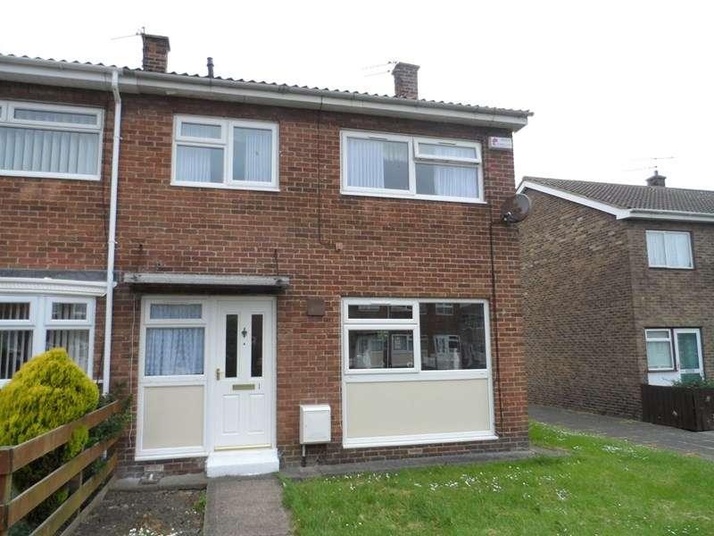 3 Bedrooms Property for sale in Chichester Close, Ashington, Ashington, Northumberland, NE63 9SB