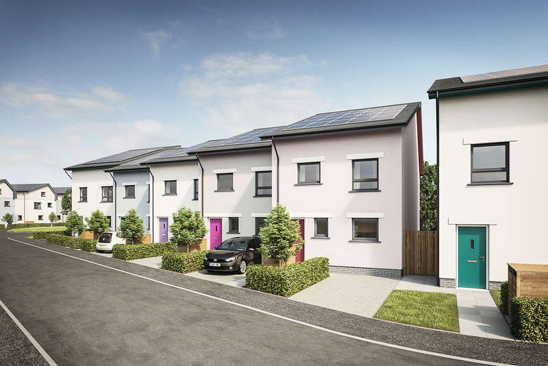 2 Bedrooms End Of Terrace House for sale in Roborough Park Eco Village, Plymouth