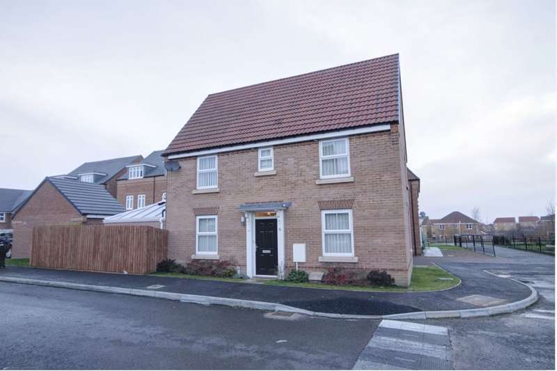 3 Bedrooms Detached House for sale in Elliott Way, Consett, DH8