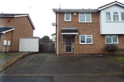 2 Bedrooms Semi Detached House for rent in Forryans Close, Wigston, LE18 3LL