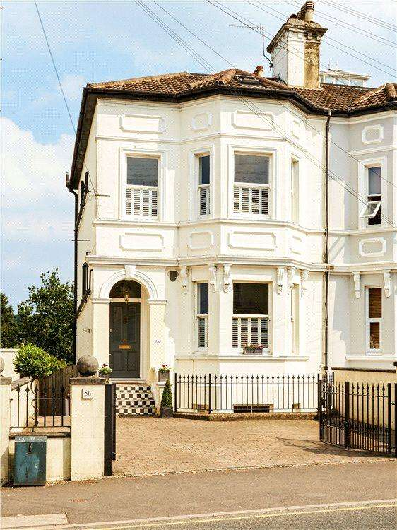 4 Bedrooms Semi Detached House for sale in Upper Grosvenor Road, Tunbridge Wells, Kent, TN1
