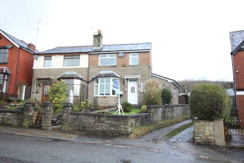 3 Bedrooms Semi Detached House for sale in Bolton Road West, Ramsbottom, Bury, BL0