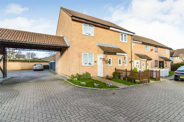 2 Bedrooms End Of Terrace House for sale in Jacksons Drive, Cheshunt, WALTHAM CROSS, Hertfordshire