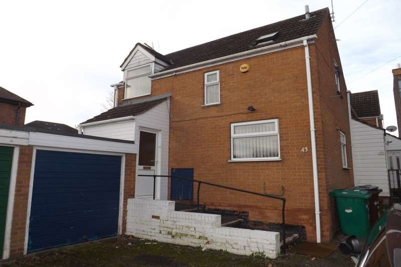 2 Bedrooms Semi Detached House for sale in Bar Lane, Nottingham, NG6