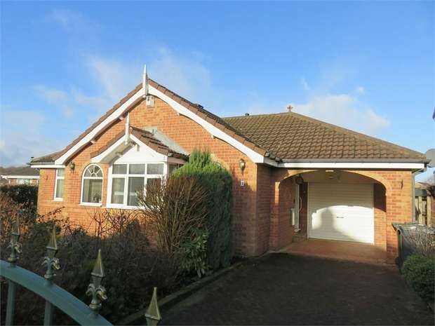 3 Bedrooms Detached Bungalow for sale in Applehaigh Grove, Royston, Barnsley, South Yorkshire