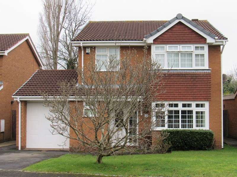 4 Bedrooms Detached House for sale in Felgate Close, Monkspath, Solihull