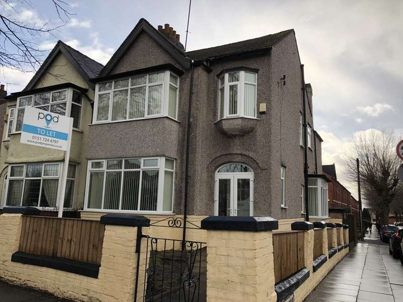4 Bedrooms Semi Detached House for rent in Aigburth Road, Aigburth
