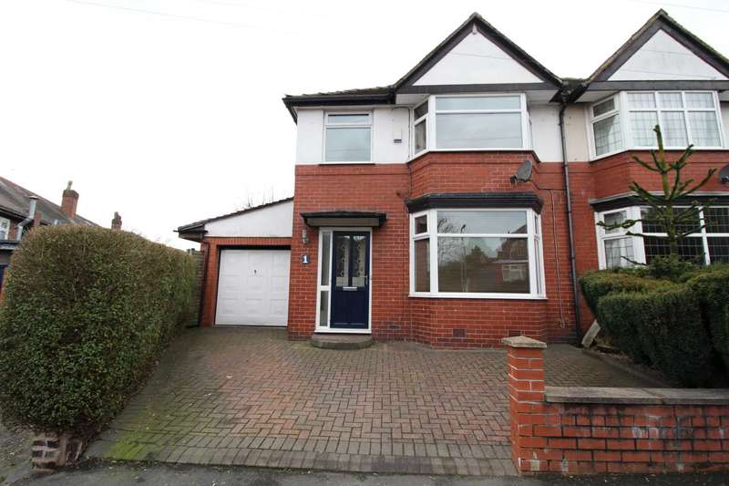 3 Bedrooms Semi Detached House for sale in Mount Road, Prestwich
