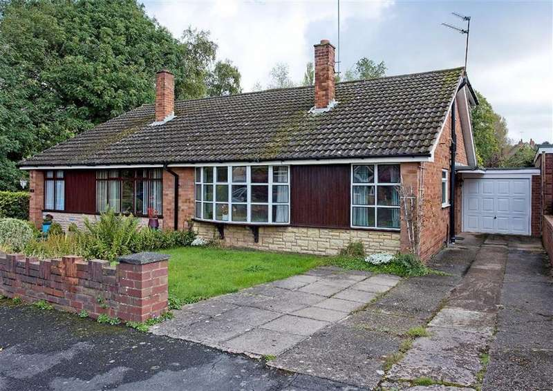 3 Bedrooms Semi Detached Bungalow for sale in 10, Pinewood Close, Wombourne, Wolverhampton, South Staffordshire, WV5
