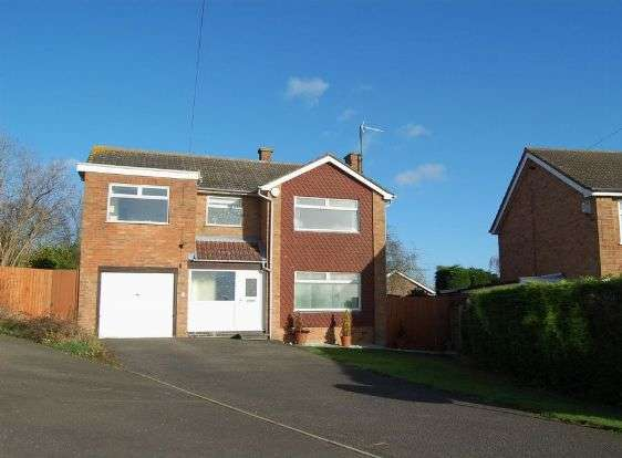 4 Bedrooms Detached House for sale in Glenfield Drive, Great Doddington, Northampton NN29 7TE