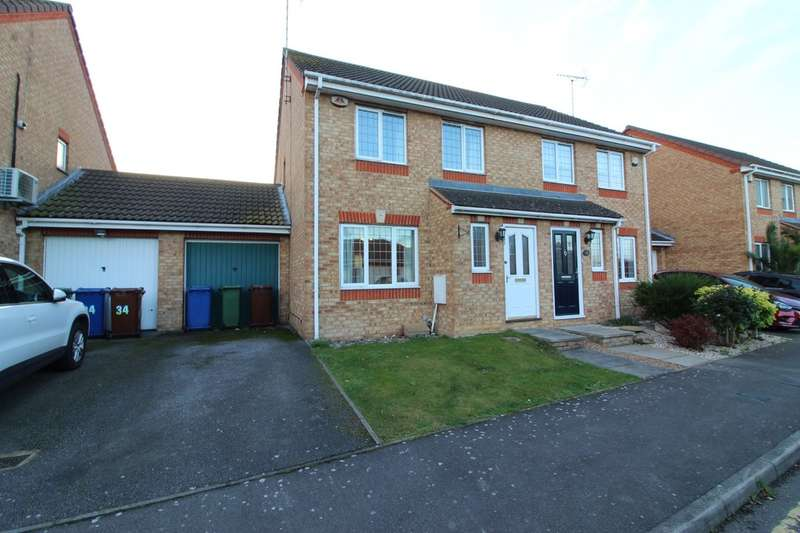 3 Bedrooms Semi Detached House for sale in Josling Close, Grays