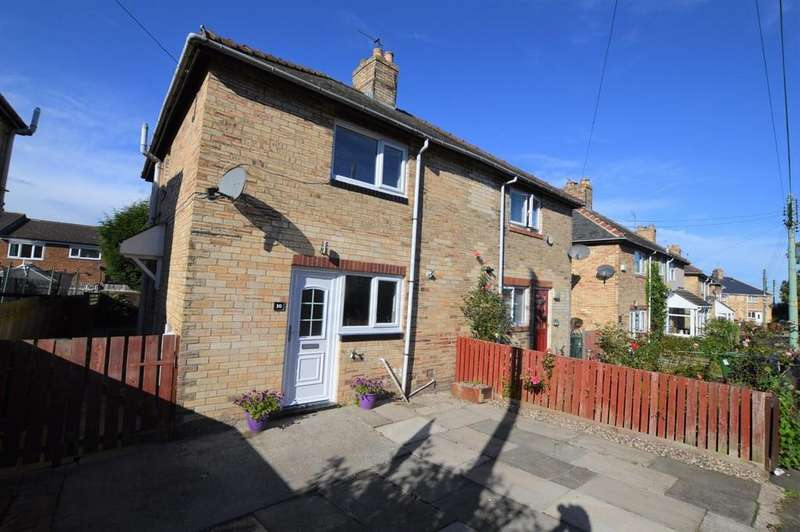 2 Bedrooms Semi Detached House for sale in Dale View Gardens, Crawcrook