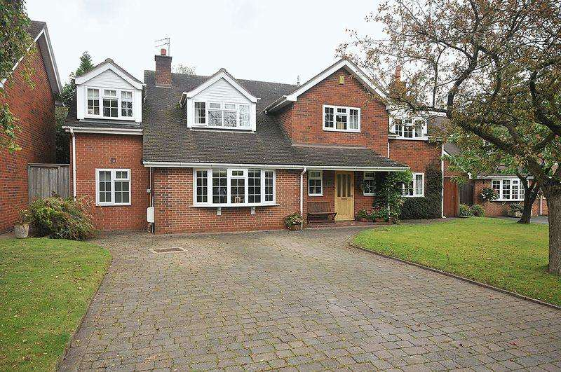 5 Bedrooms Detached House for sale in Broomfield Close, Chelford