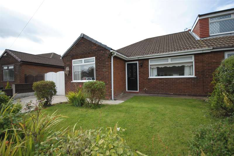 3 Bedrooms Semi Detached Bungalow for sale in Bentham Road, Standish, Wigan