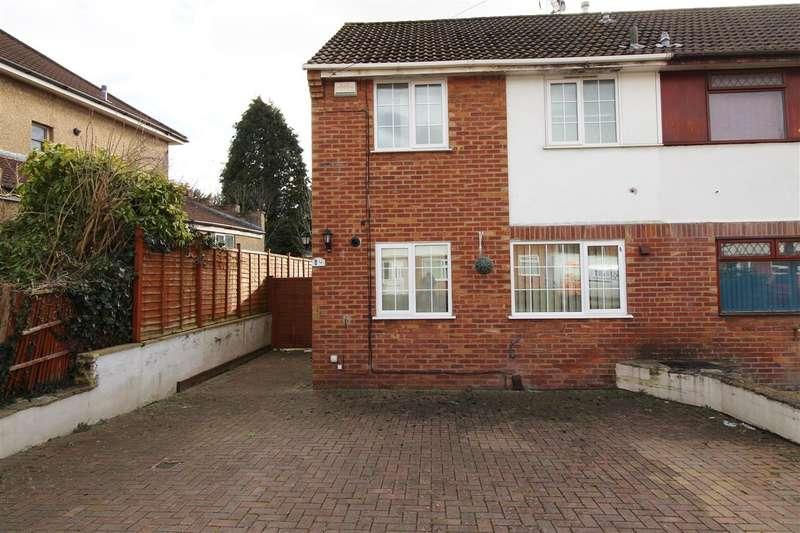 3 Bedrooms Semi Detached House for rent in Cranes Close, Bristol