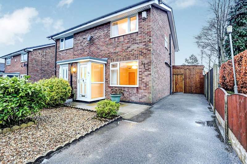 2 Bedrooms Semi Detached House for rent in Leigh Avenue, Marple, Stockport, SK6