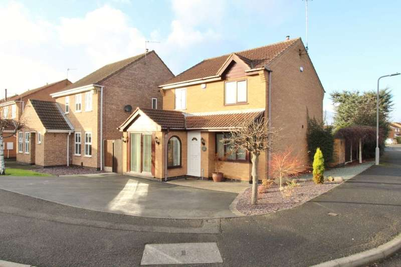 3 Bedrooms Detached House for sale in Trowell Park Drive, Trowell, Nottingham, NG9