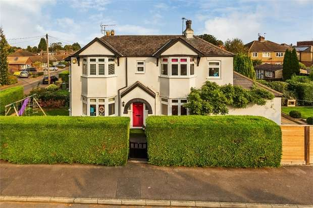 3 Bedrooms Detached House for sale in Endsleigh Gardens, Hersham, WALTON-ON-THAMES, Surrey