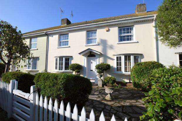 4 Bedrooms Terraced House for sale in Riverside, Shaldon, Devon
