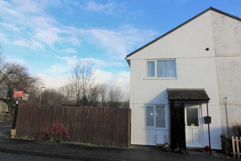 1 Bedroom End Of Terrace House for sale in Tamar Close, Callington, PL17 7PW