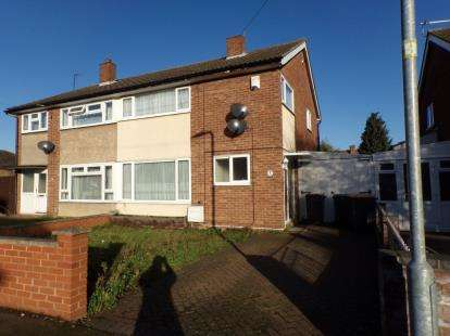 3 Bedrooms Semi Detached House for sale in Gloucester Road, Bedford, Bedfordshire