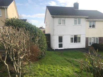 3 Bedrooms Semi Detached House for sale in St Blazey, Par, Cornwall