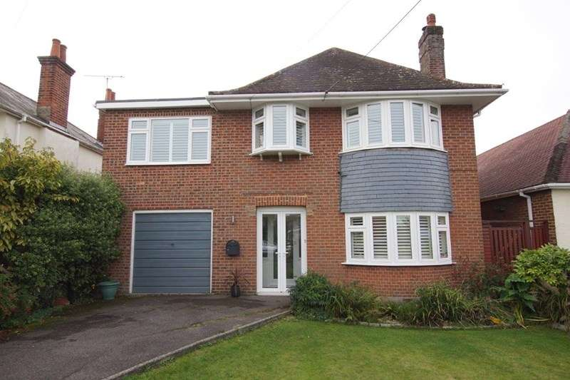 4 Bedrooms Detached House for sale in Lulworth Avenue, Hamworthy, Poole