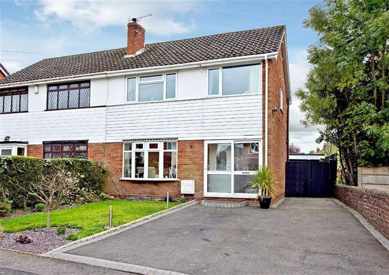 3 Bedrooms Semi Detached House for sale in 4, Park Avenue, Wombourne, Wolverhampton, South Staffordshire, WV5