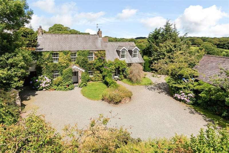 5 Bedrooms Detached House for sale in Summerhill Farm Cottages, Nr Amroth, Narberth, Pembrokeshire, SA67