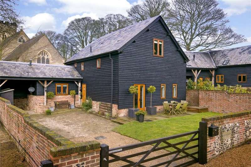 4 Bedrooms Semi Detached House for sale in St. Mary's Court, Church End, Nr Kensworth, Bedfordshire, LU6