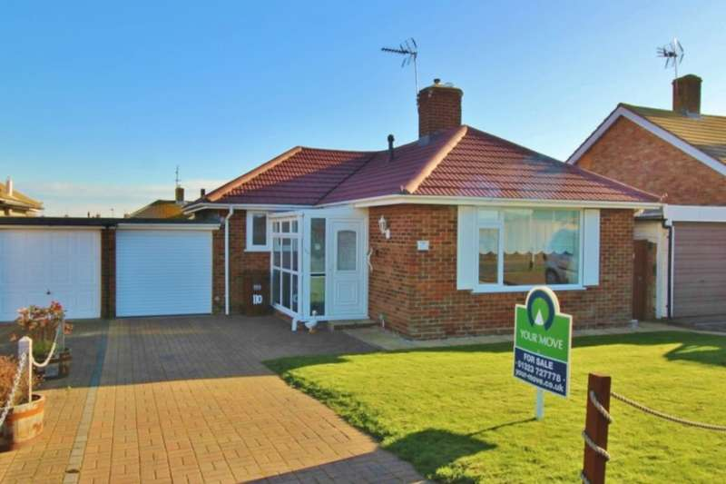 2 Bedrooms Detached Bungalow for sale in Priory Road, Eastbourne, BN23