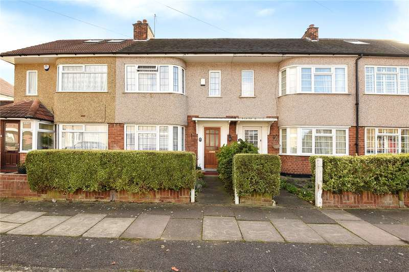 2 Bedrooms Terraced House for sale in Exmouth Road, Ruislip, Middlesex, HA4